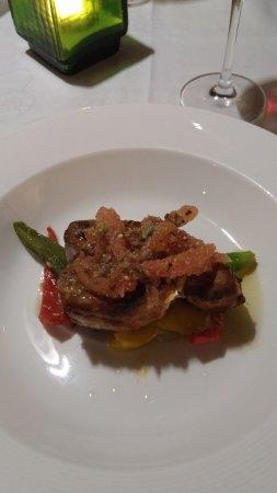 Belle Mare: Tunfischsteak italienisches Restaurant