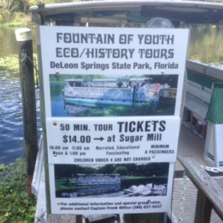 De Leon Springs, FL: Nice trip for those interested in the history of the park.