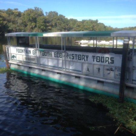 De Leon Springs, FL: Das Boat