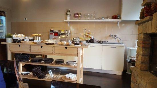 Bed & Breakfast Videtti: Sala Colazione