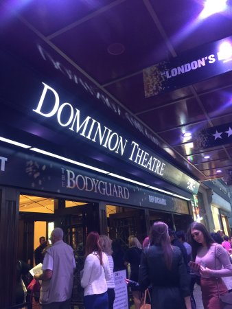 ‪The Bodyguard at the Dominion Theatre London‬