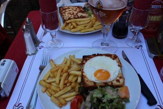 Brasserie Le Glacier: Food