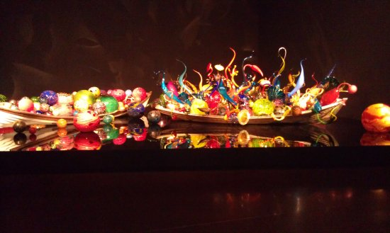 Interior display at the Garden of Glass Picture of Chihuly