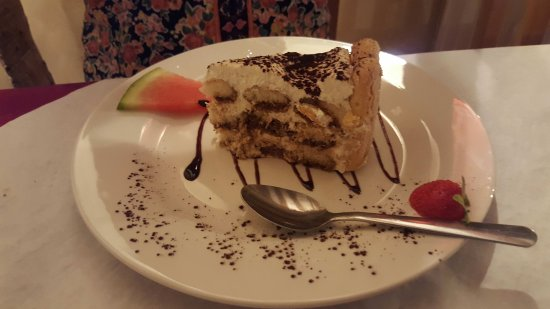 Hadleigh, UK: Homemade Tiramisu