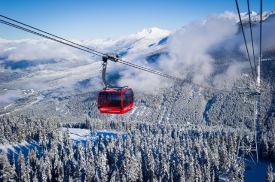 The PEAK 2 PEAK Gondola in Whistler Photo by Mike Crane