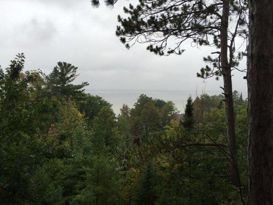 Cheboygan, MI: View on a rainy day.