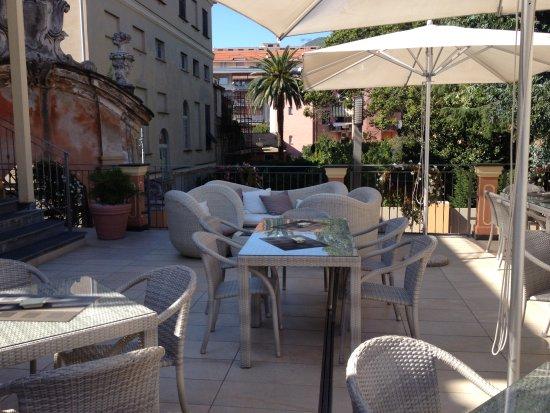 Hotel Monte Rosa: terrace