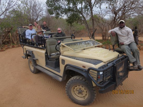 Ulusaba Private Game Reserve, แอฟริกาใต้: The daily vehicle