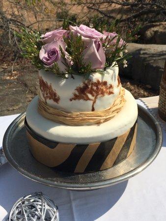 Ulusaba Private Game Reserve, แอฟริกาใต้: Wedding cake