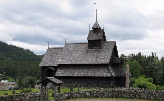 ‪Eidsborg Stave Church‬