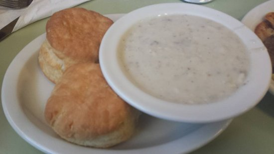 Λέμπανον, Οχάιο: You can always get a glorious helping of biscuits and gravy.