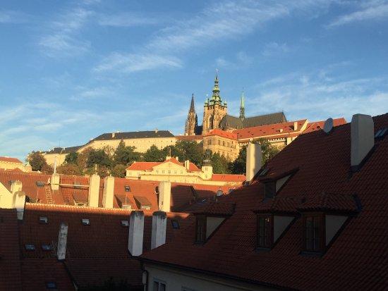 Augustine, a Luxury Collection Hotel, Prague: Blick aus Zimmer 435