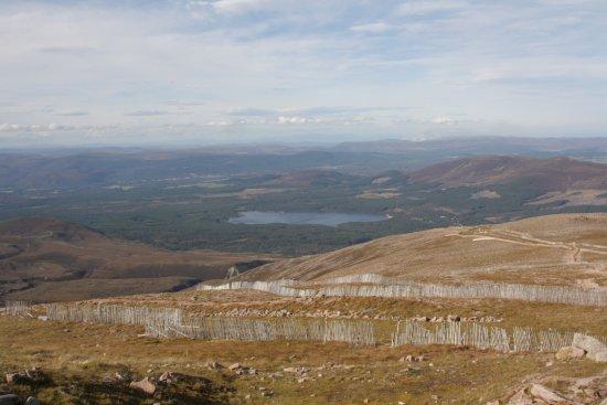Aviemore, UK: Uitzicht op Loch Morlich