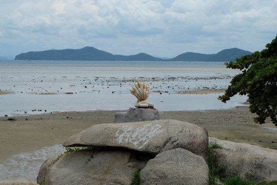Laem Set, Tailândia: Spiaggia