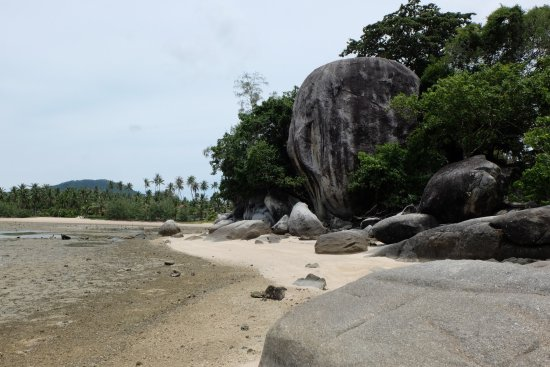 Laem Set, Thailand: Spiaggia