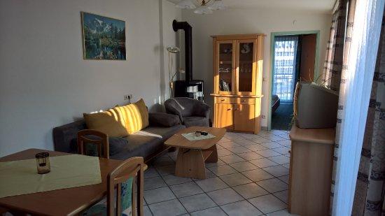 Sankt Polten, Austria: Vorraum des Appartement-Zimmers.