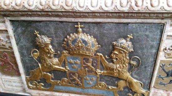Uppsala, Sweden: Gustav Vasas sarkofag