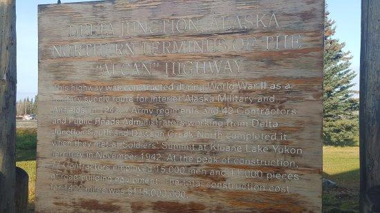 Delta Junction, AK: Dedication