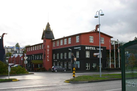 Viking Village Hotel: View from the harbour