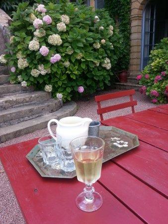 Saint-Julien de Civry, Frankreich: Il benvenuto di Marty: Bourgogne Chardonnay!