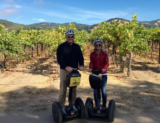 Sonoma Segway: Beautiful setting and fun adventure!