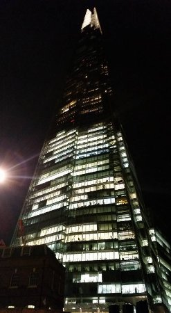 The View From Shard By Night