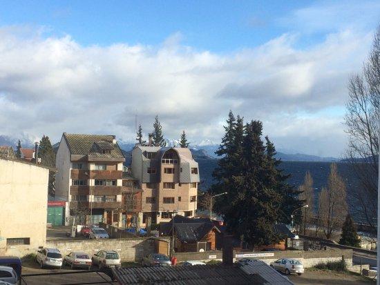 Ayres del Nahuel: vista do nosso Hotel