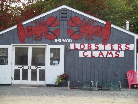 The front doors - Picture of C-Ray Lobster, Bar Harbor - TripAdvisor
