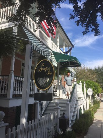 The Beaufort Inn: This is a beautiful bed and breakfast in an equally beautiful town.