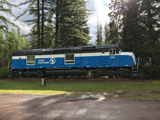 Essex, MT: GN 441 Locomotive