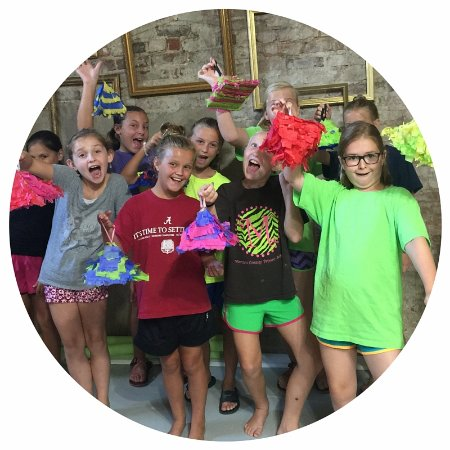 Creative tween camps at The Painted Pineapple | Creative Studio, Madison, GA
