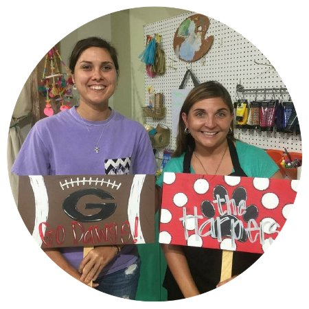 Paint workshops at The Painted Pineapple | Creative Studio, Madison, GA