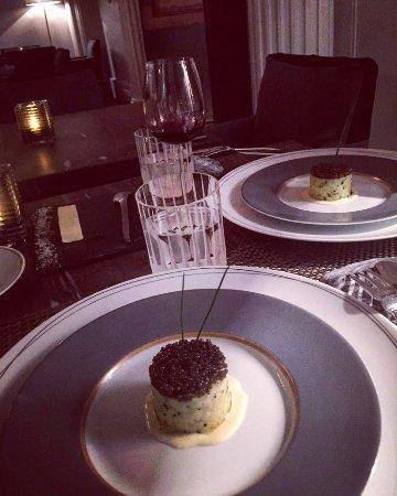 Apicius: Potato and caviar.....:)