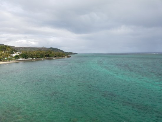 Baie du Cap: View from top...