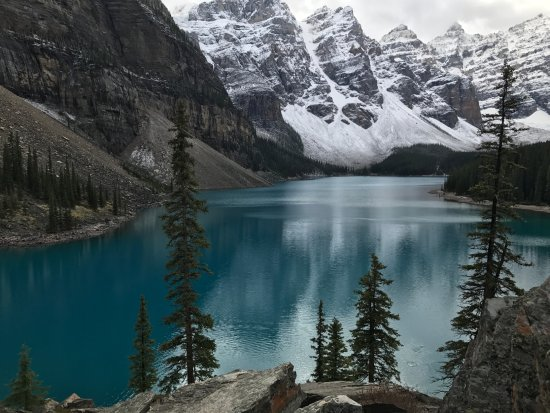 moraine lake picture of west trek tours vancouver. Black Bedroom Furniture Sets. Home Design Ideas