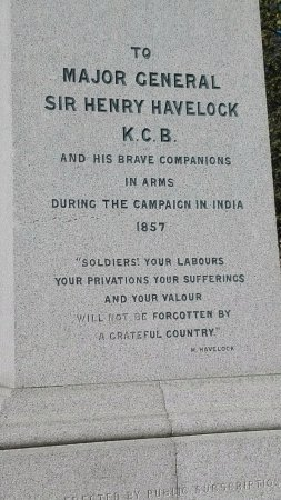 Major General Sir Henry Havelock Statue