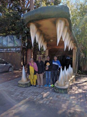 Cango Wildlife Ranch: hahhhaaa