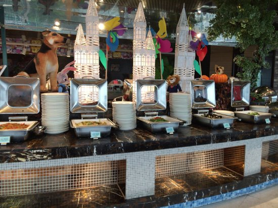 Friendship Hotel Hangzhou: とにかくメニューが豊富なので、連泊しても飽きません。