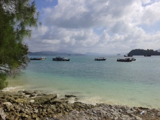 Beras Basah Island: sea view