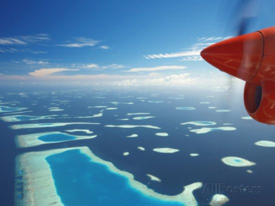 The Maldives Are A Group Of Islands With An Average Height - Height above sea level