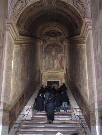 Святая лестница scala santa