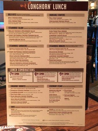 Primetime Burger Picture Of Longhorn Steakhouse Winter