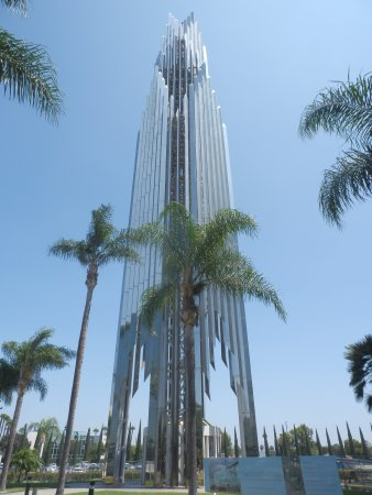 Crystal Cathedral : Il formidabile campanile.