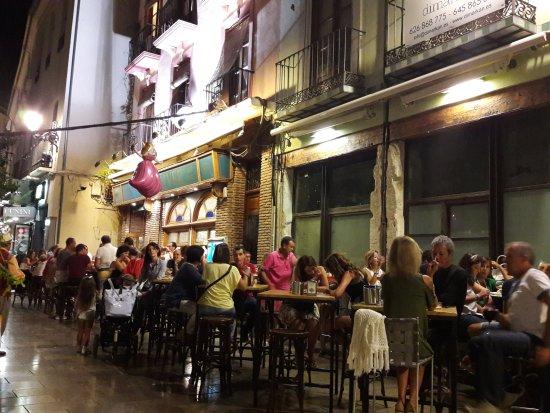 Terraza Oliver Por La Noche Picture Of Restaurante Bar
