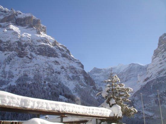 Alpenblick Hotel Pub & Restaurant: Aussicht Winter