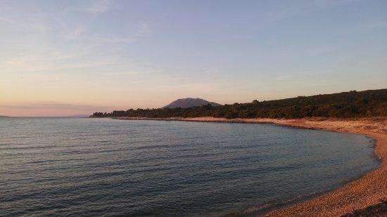 Mali Losinj, Croatia: al tramonto colori spettacolari