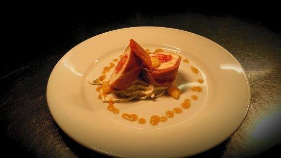 Trebarwith, UK: Chicken starter