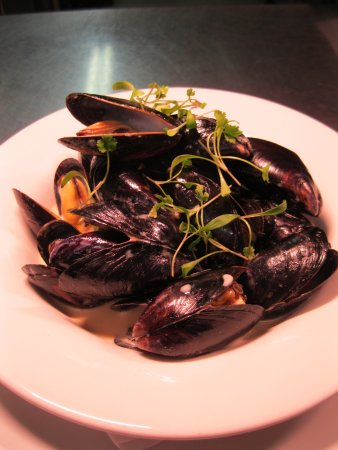 Trebarwith, UK: Porthilly Mussels