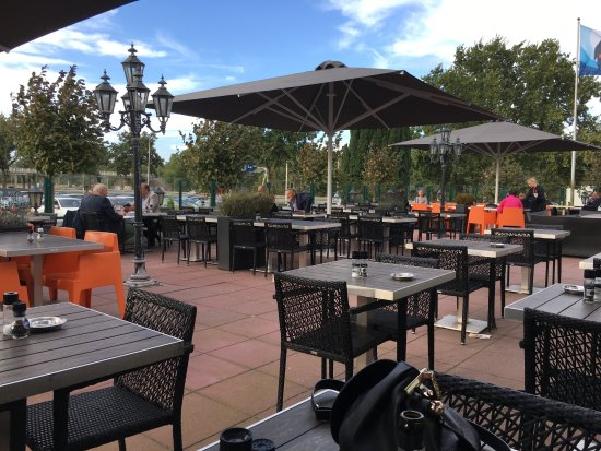Eemnes, The Netherlands: terras