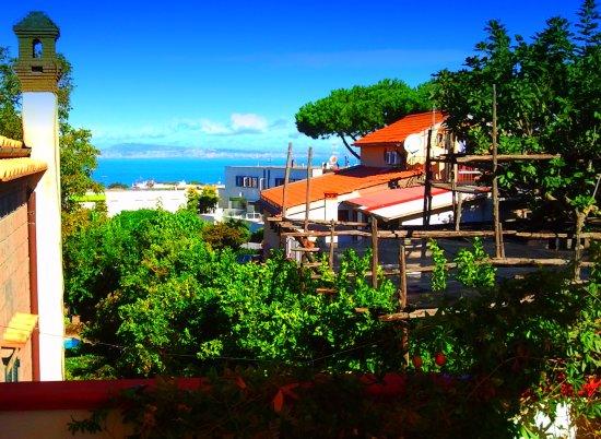 Villa Maresca: Terrasse